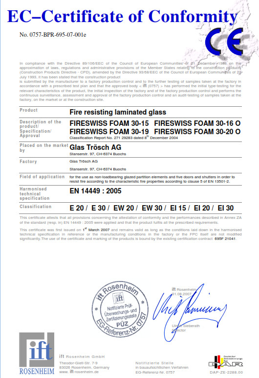 EC Certyfikat E30